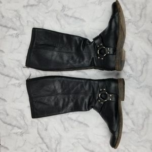 Frye Shoes - Frye|Phillip Harness Tall Leather Boots
